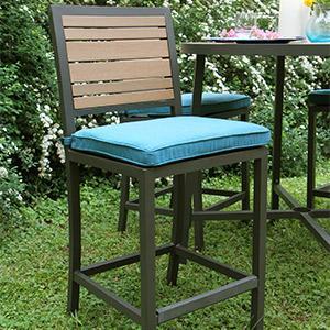 Patio Furniture, Outdoor Furniture, Sunbrella, Aluminum, Bar Height, Ae  Outdoor,