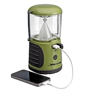 mr beams ultrabright lantern, lantern with usb charging port, camping lantern