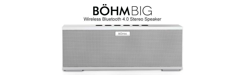 Amazon.com: BÖHM BIG Wireless Bluetooth 4.0 Stereo Speaker