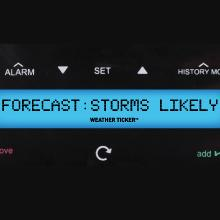 weather ticker