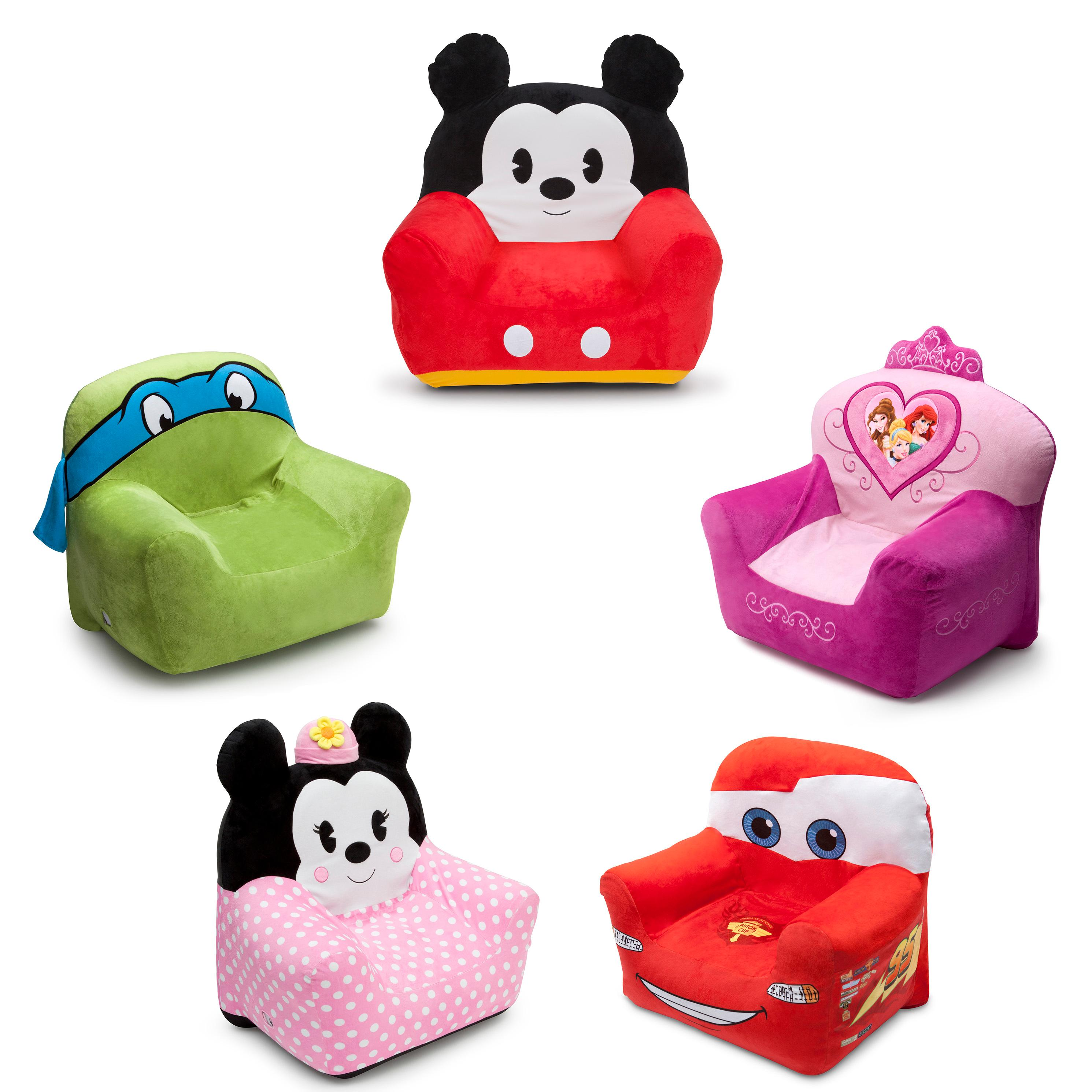 kids furniture kids chair kids room comfy plush inflatable bubble  sc 1 st  Amazon.com & Amazon.com: Delta Children Club Chair Disney Minnie Mouse: Baby