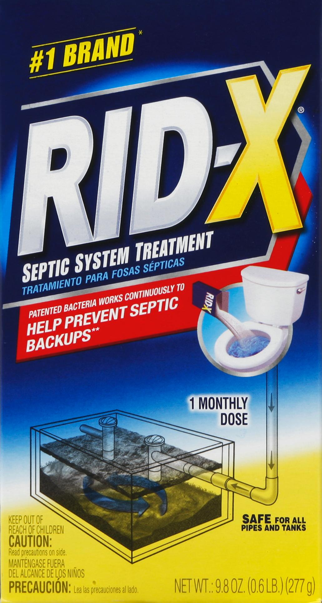 Amazon Com Rid X Septic Treatment 1 Month Supply Of