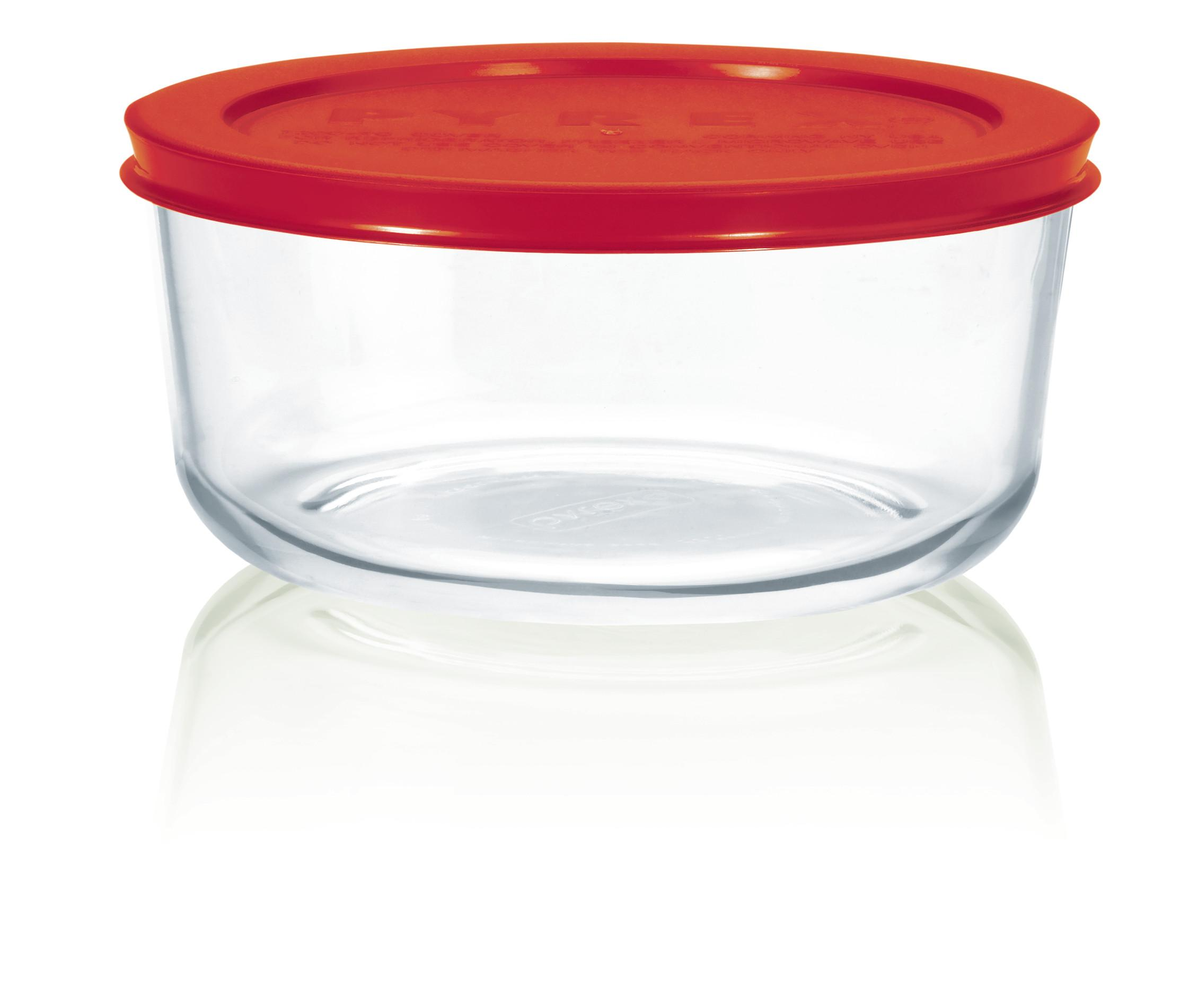 Amazon.com: Pyrex Simply Store Glass Round Food Container