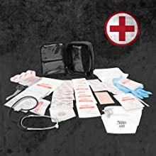 bug out bag tactical prepper emergency medical first aid preparedness disaster