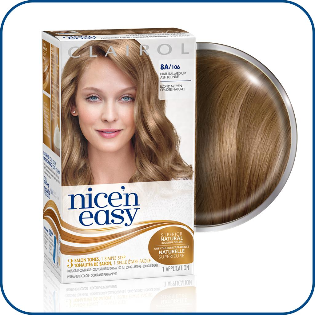 Nice N Easy Permanent Color 8a106 Natural Medium Ash Blonde 1 Ea