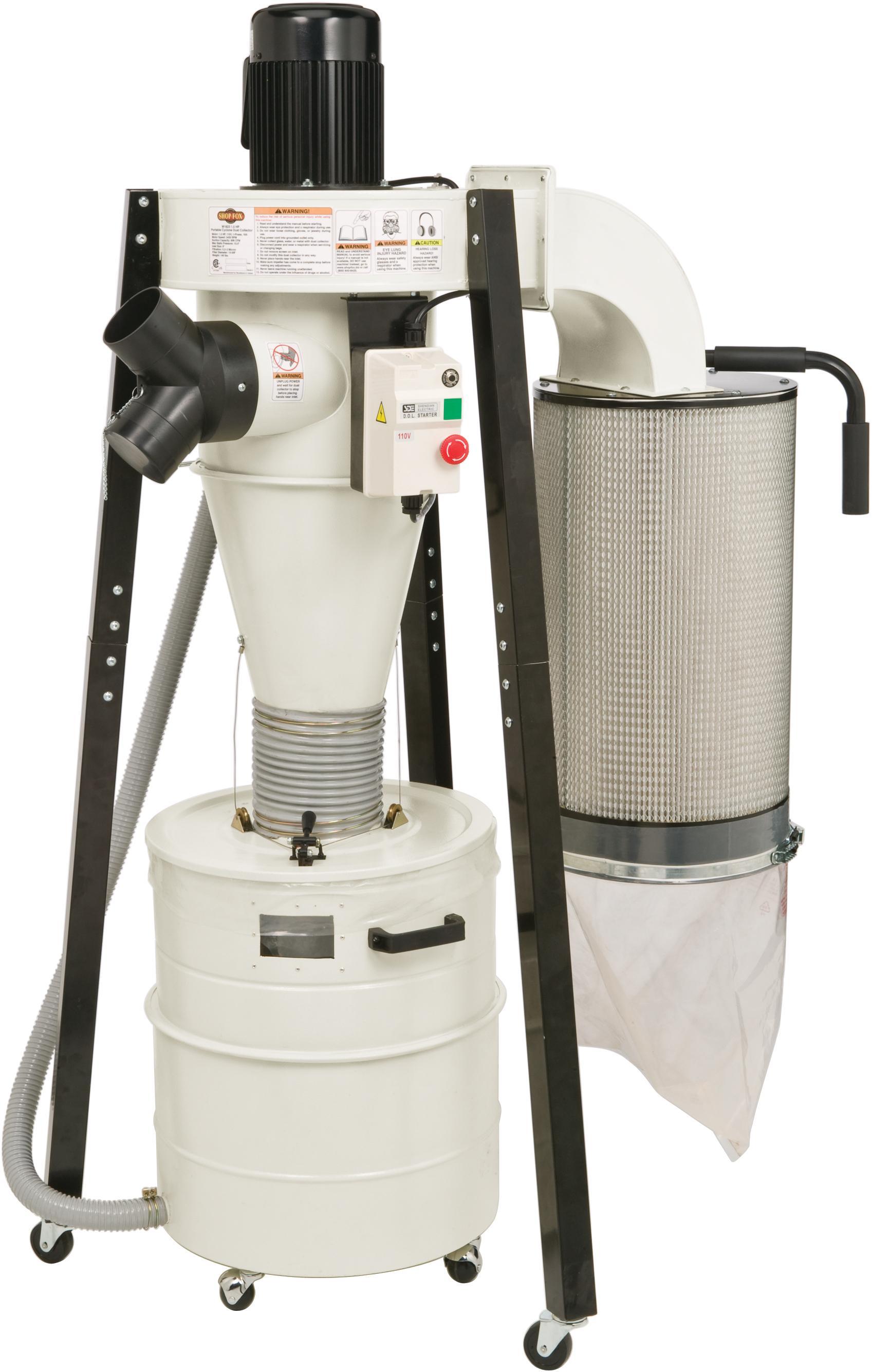 Shop Fox W1823 Portable Cyclone Dust Collector Amazon Com