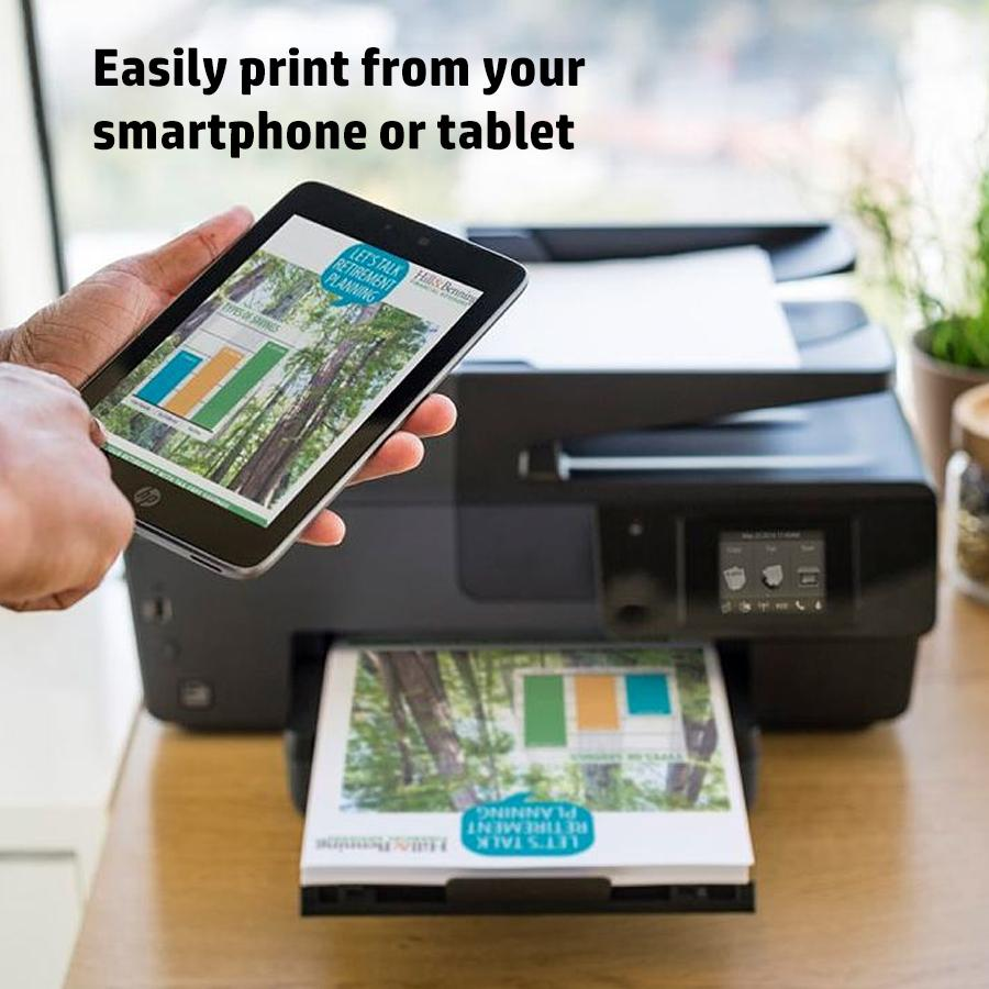 Amazon HP OfficeJet Pro 8100 Wireless Photo Printer With Mobile