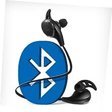 bluetooth headphones running