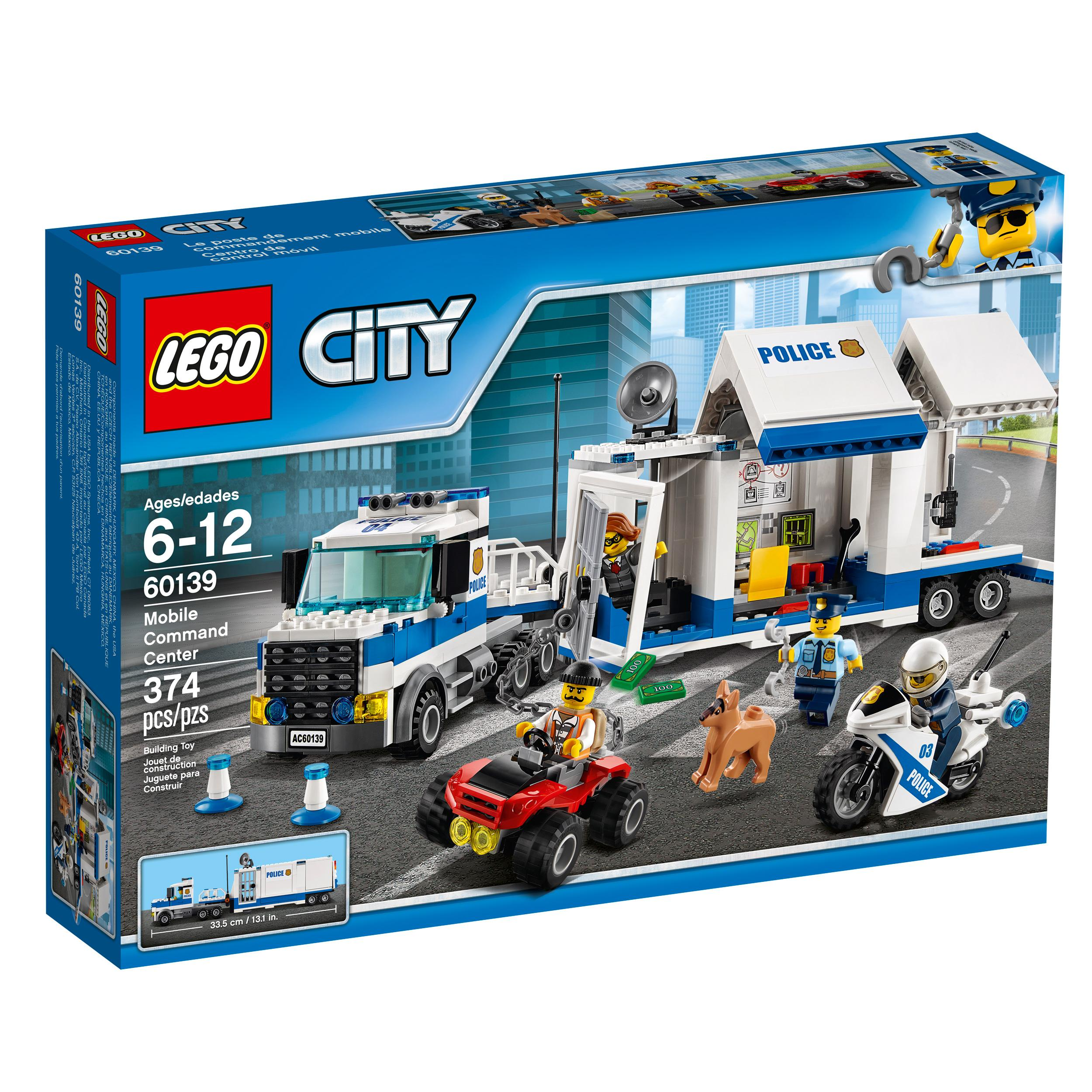 Lego City Toys : Amazon lego city police mobile command center