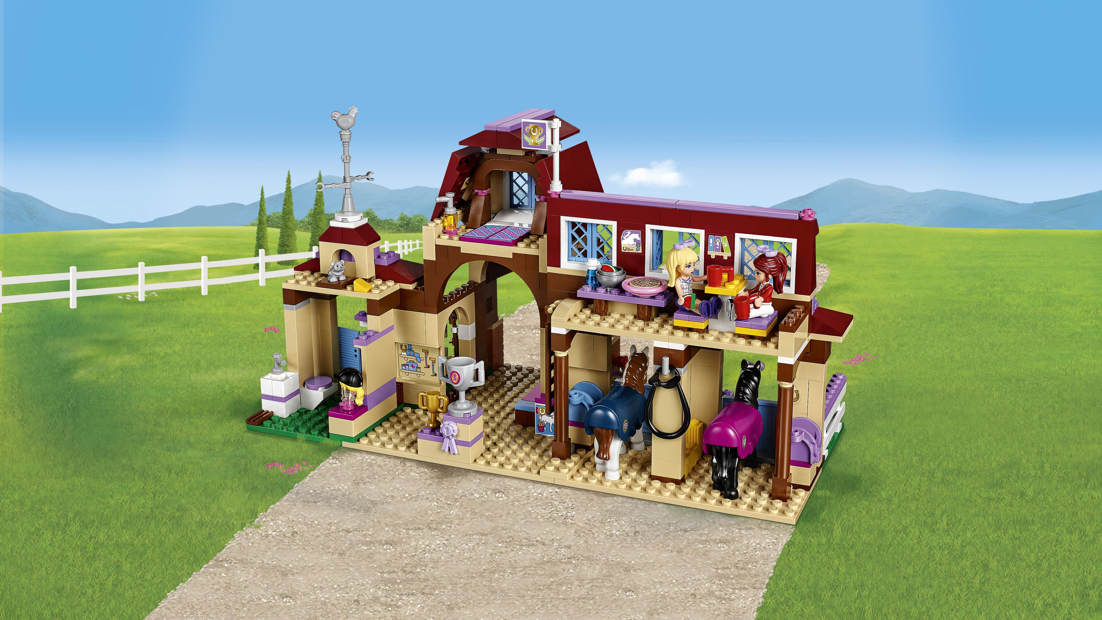 Lego Friends Horse Stable Instructions 41126