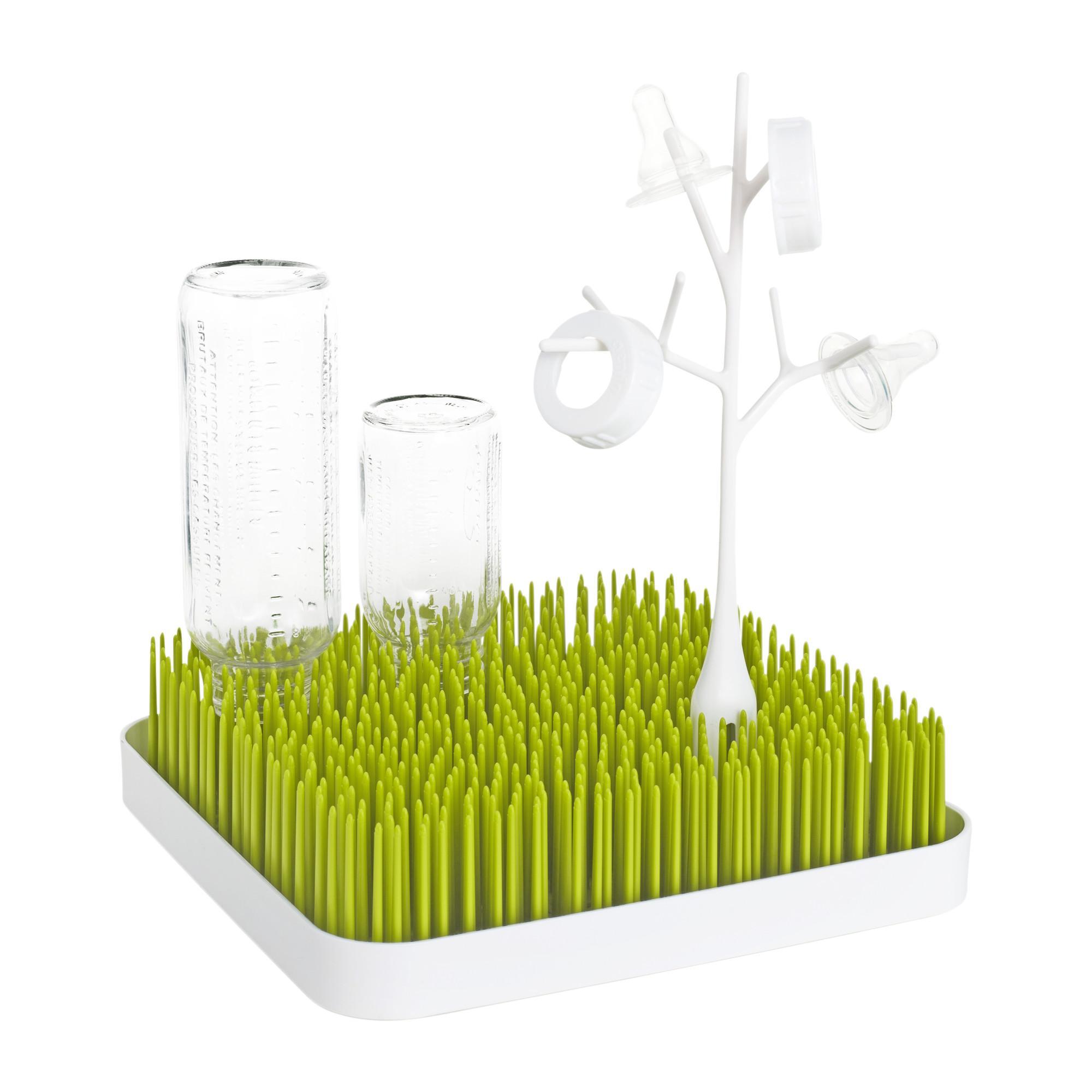 Amazon.com: Boon Grass Countertop Drying Rack,Green: Ann