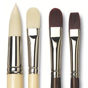 da Vinci 7187-04 Top Acryl Slant Series Paint Brush Size 4