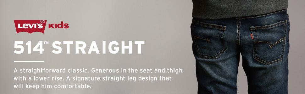 d05b627d3 Amazon.com: Levi's Boys' 514 Straight Fit Jeans: Clothing