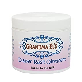 Grandma Els Jar, Diaper Rash, Rash Cream, Diaper Ointment, Diapers, baby lotion, baby cream
