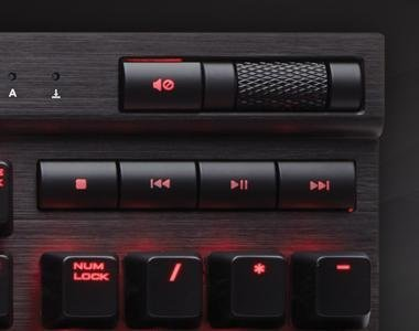 how to set up k70 lux for moba keycaps