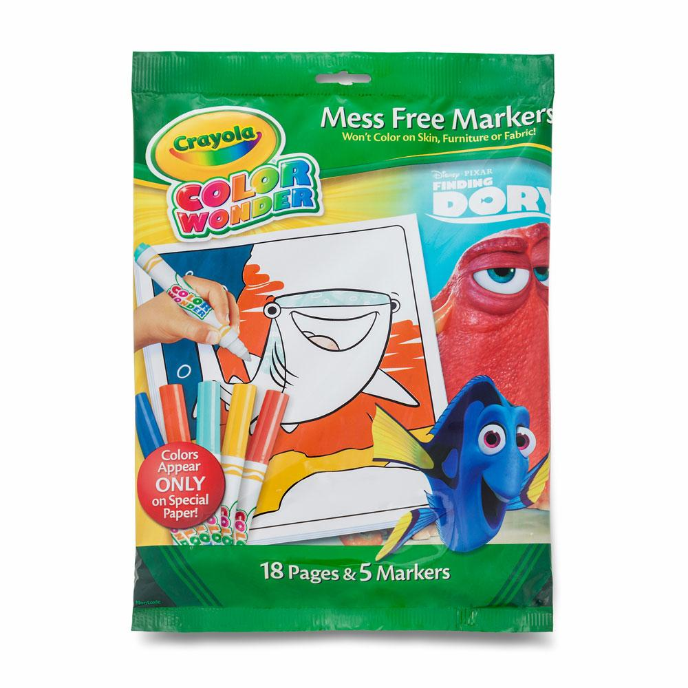 Amazon Crayola Finding Dory Color Wonder Paper Markers Toys
