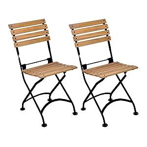 Beau French Café Bistro Folding Side Chair