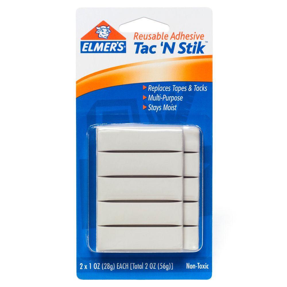 Amazon Com Elmer S Tac N Stik Reusable Adhesive