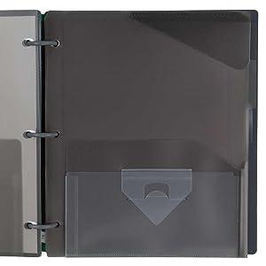Flex, notebook, binder, 1 in. binder, hybrid notebinder, opaque binder