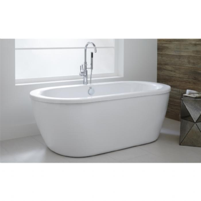 best material for freestanding tub. Sleek Contemporary Styling American Standard 2764014M202 011 Cadet Freestanding Tub  Arctic