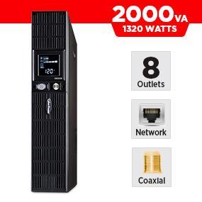 CyberPower OR2200LCDRT2U Battery Backup UPS