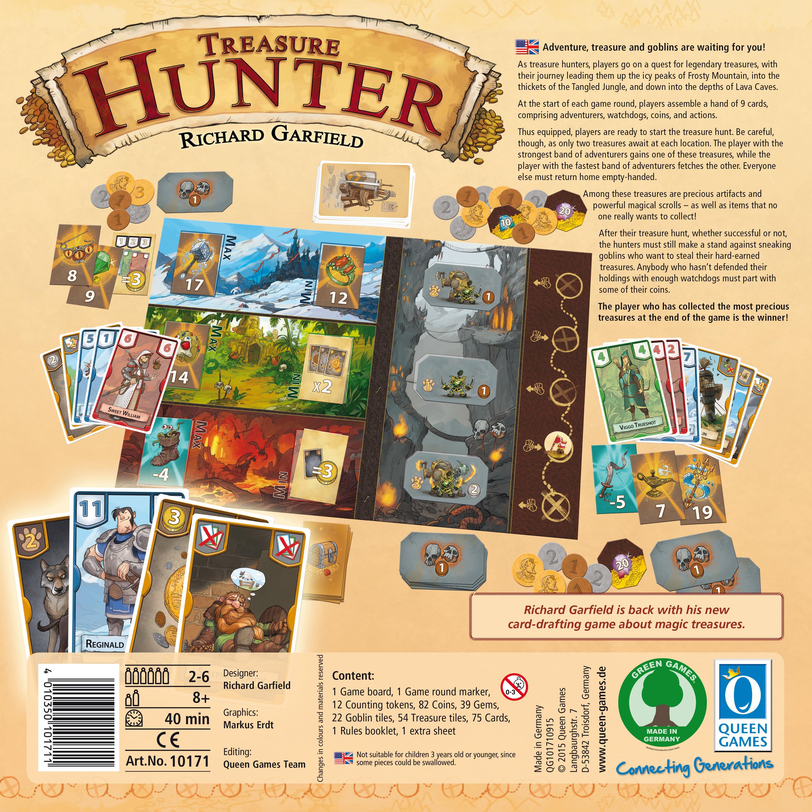 Games: Amazon.com: Treasure Hunter: Toys & Games