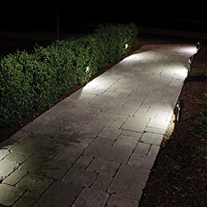 wireless stair lighting, battery powered walkway lights, motion activated wireless stair lights