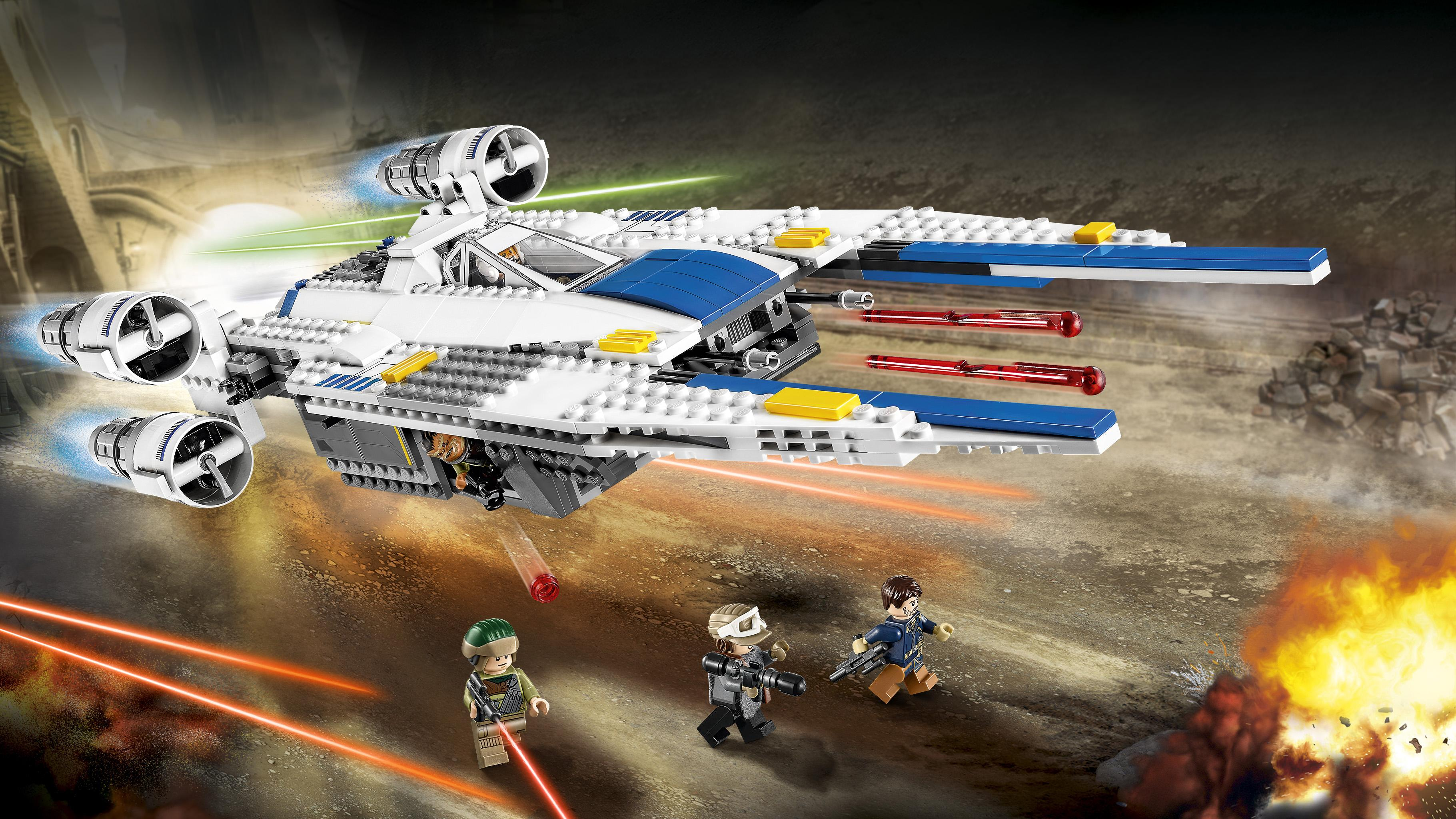 Lego star wars rebel u wing fighter 75155 star - Bd lego star wars ...
