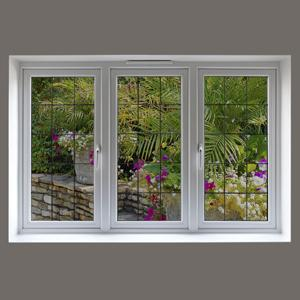 3m ultra clear energy saving window film kit 3 feet x 5 feet dark shade home. Black Bedroom Furniture Sets. Home Design Ideas