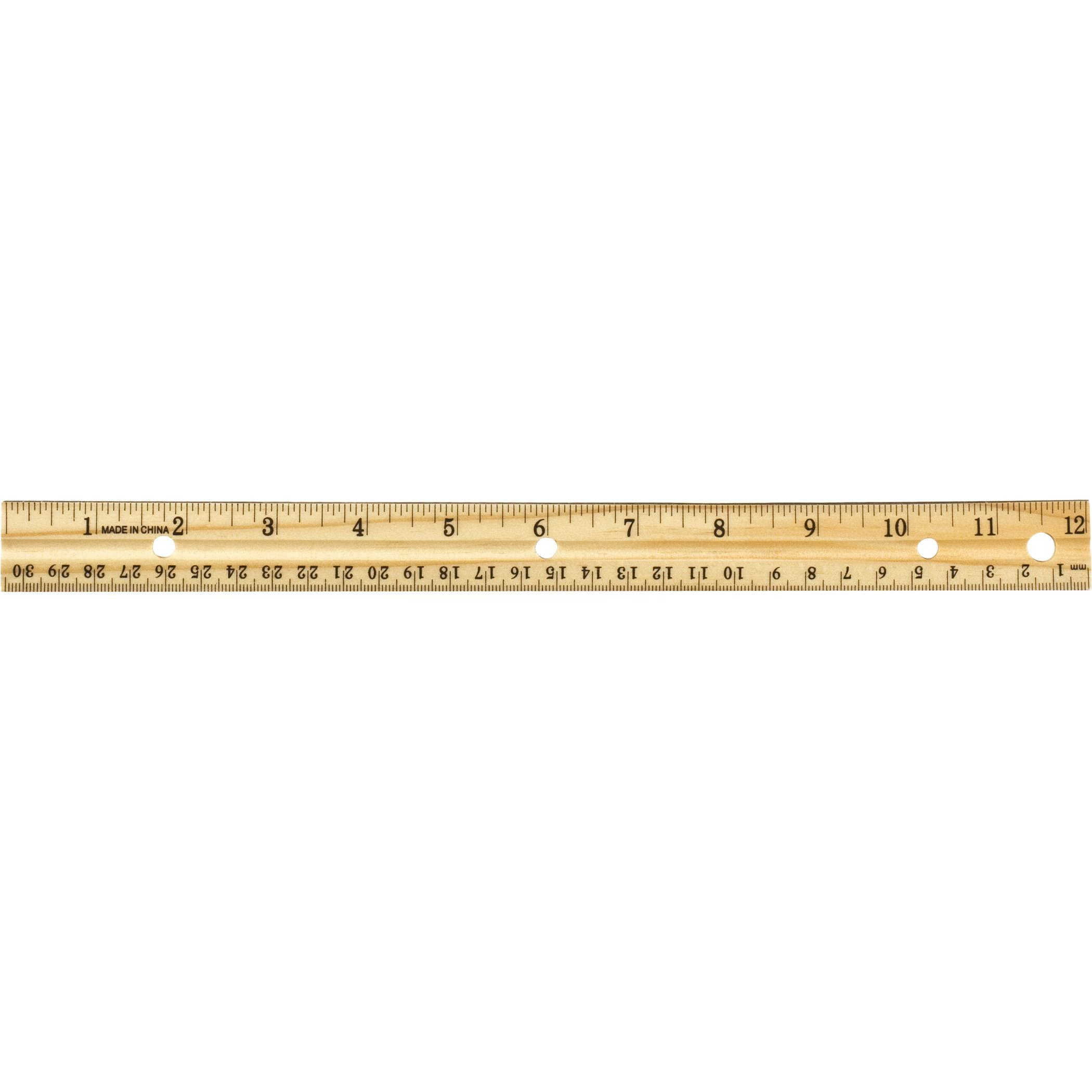 amazoncom officemate oic 12inch wood ruler box of 12