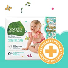 diapers, skin health, diapers for sensitive skin, newborn diapers, size 1 diapers, size 2 diapers