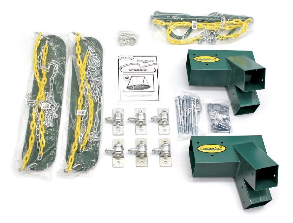 Amazon Com Eastern Jungle Gym Diy Swing Set Hardware Kit With Easy