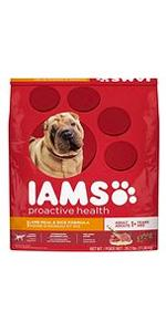 This food for dogs with allergies or food sensitivities is formulated to promote soft skin and a shi