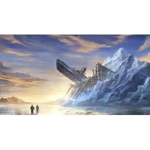 Antarctica ice structure nazi sub