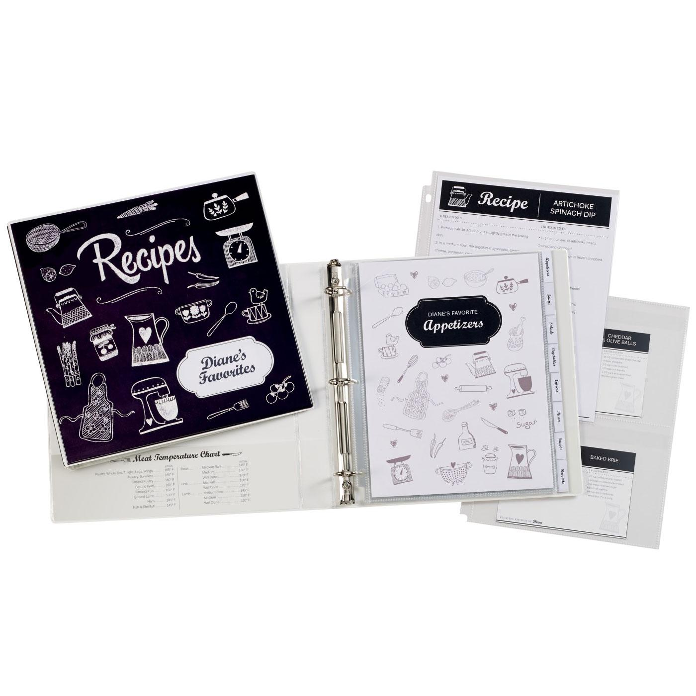 Amazon.com : Avery My Recipe Durable Binder, Extra Wide 1