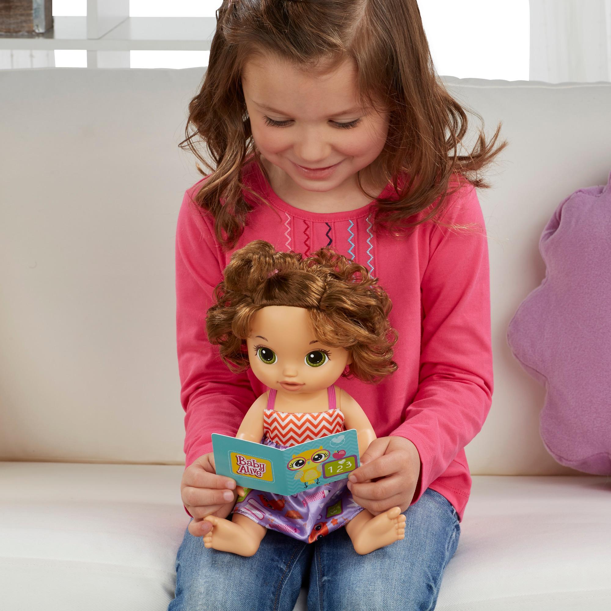 Amazon Com Baby Alive Ready For School Baby Brunette