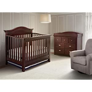 simmons juvenile furniture. nursery, collection, augusta, simmons, kids, baby, room, brown, simmons juvenile furniture