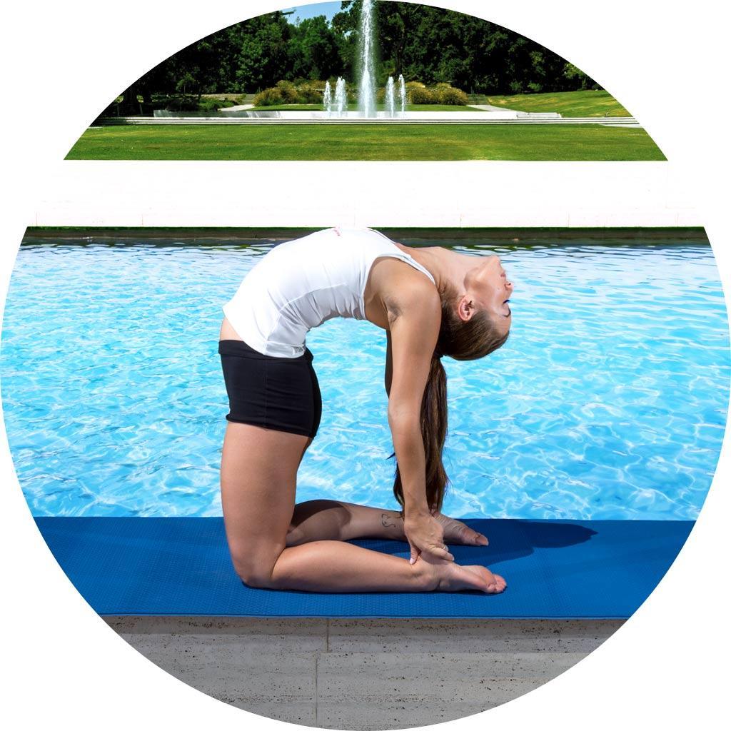 Amazon.com : ProSource Natura TPE Yoga Mat, Black/Grey ...