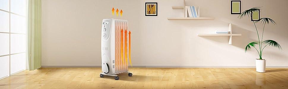 b750dce533 Amazon.com: PELONIS HO-0201 3-Level Radiator Heater with Quiet ...