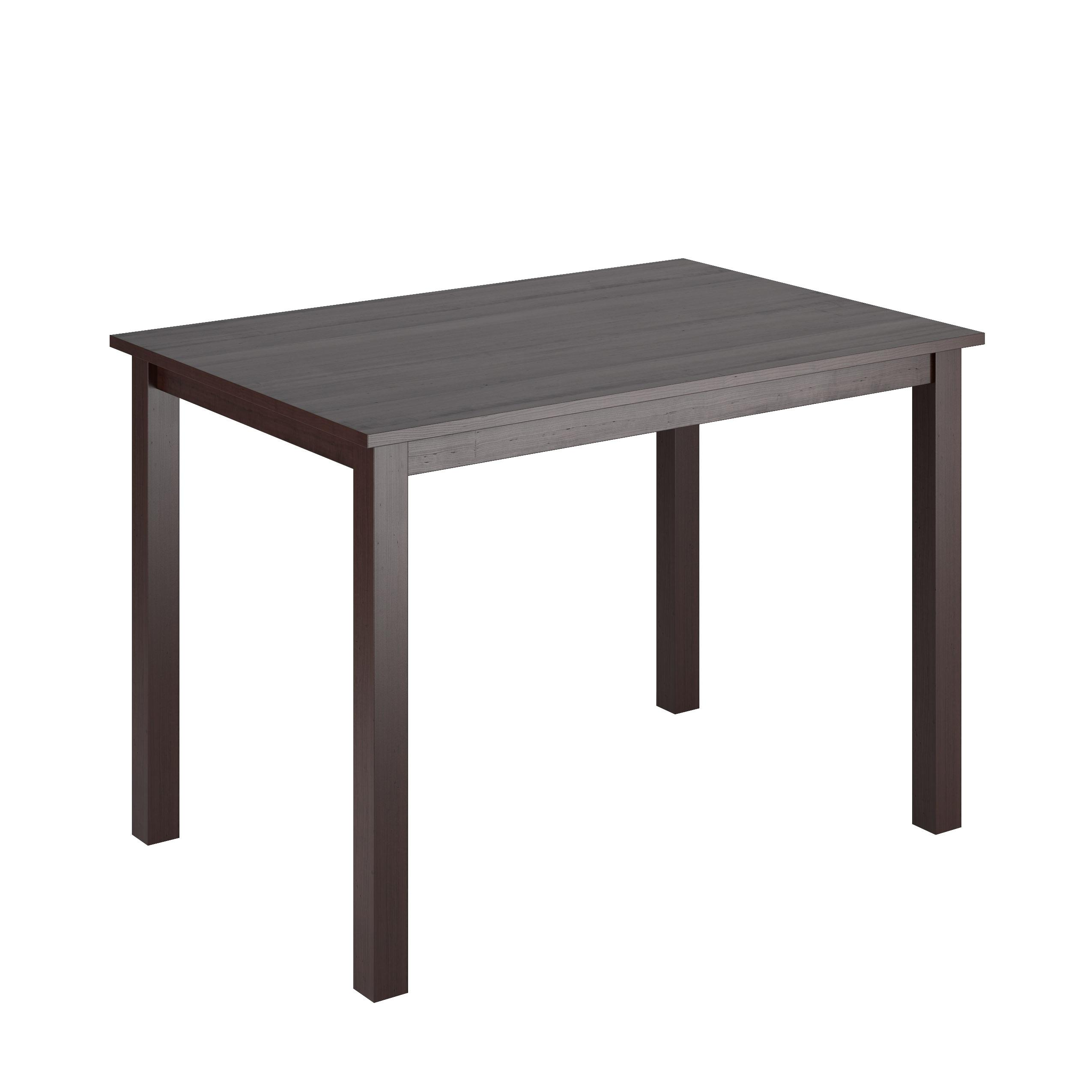 Amazoncom CorLiving DRGT Atwood Wide Stained Dining Table - 28 wide dining table