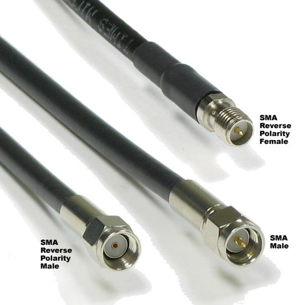 wifi antenna extension cables. View larger