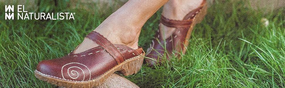 El Naturalista, comfort, natural, shoes, women's shoes, comfort shoes, earth, clog