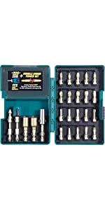 drill bit set; Makita bit set; set of bits for drills