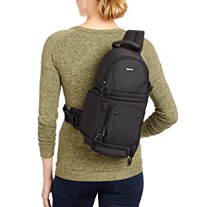 Amazon.com : AmazonBasics Camera Sling Bag : Camera & Photo
