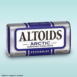 Altoids arctic Sugarfree mints tin