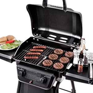 Amazon.com: Parrilla con 2 quemador de gas de Char-Broil ...