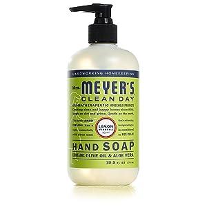 Liquid Hand Soap Lemon Verbena, 12.50 oz