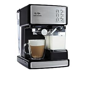 Amazon.com: Mr. Coffee ECMP1000 Cafe Barista Premium Espresso/Cappuccino System, Silver: Semi ...