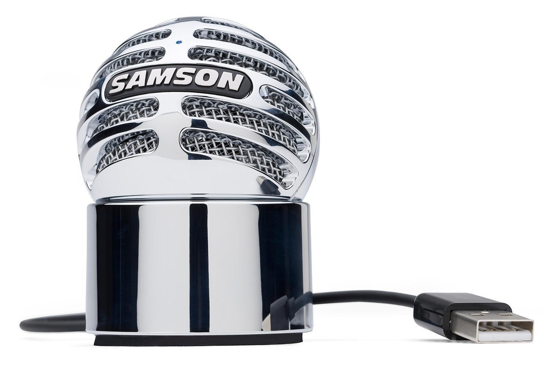samson meteorite usb condenser microphone samson audio musical instruments. Black Bedroom Furniture Sets. Home Design Ideas