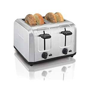 4 slice toasters oster cuisinart stainless steel bread bagel four large digital compact best